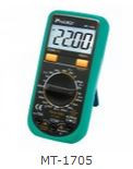3 1_2 Compact Digital Multimeter (MT-1705)
