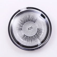 100% 3D natural mink fur magnet eyelash extension with private logo support/false eyelash/mink strip eyelashes