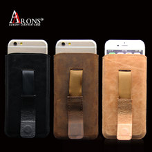 Durable blank pc leather phone case for iphone 6