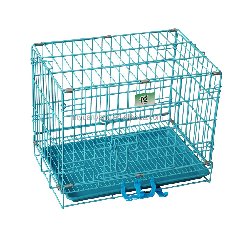 expandable outside large steel folding dog cage