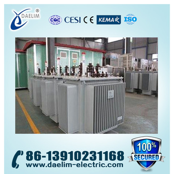 10.5kv 400kva Amorphous Alloy Oil-immersed Distribution Transformer
