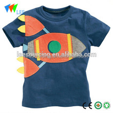 Exporting US baby boy fashion cotton t shirt children cartoon t shirt wholesale