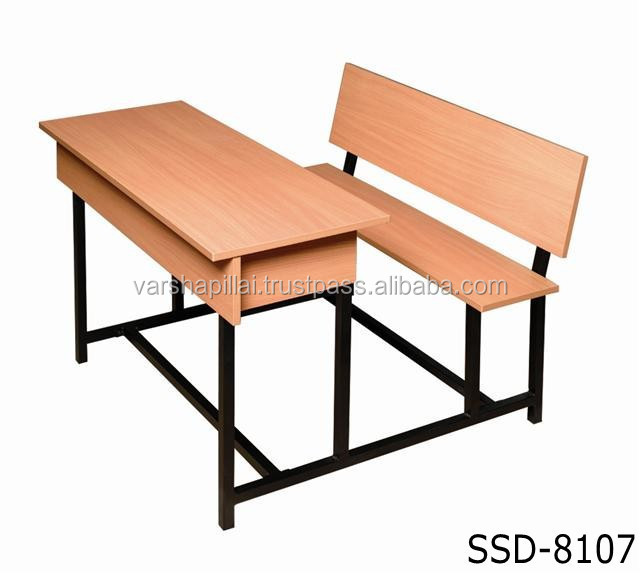 new design modern school furniture double seater school bench desk buy new design modern school furniture double seater school bench desk - School Desk Design