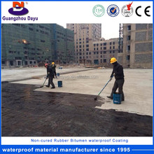 Strong Adhesive Waterproofing Materials Rubber Bitumen Basement Water Repellent Product