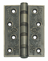 Flower Print Self Closing Swing Door Antique Hinge