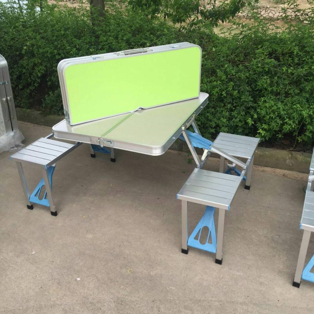 Multipurpose Portable Aluminum Folding Picnic Table 4 Seats   Buy Folding  Picnic Table 4 Seats,Aluminum Picnic Table 4 Seats,4 Seats Ride On Toy  Product On ...