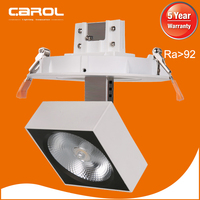 new products 2016 5 inch cut size cob 25w adjustable led up down light