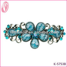 Newest Diy Hair Clips Jade Green Hair Accessories For Hairdressing