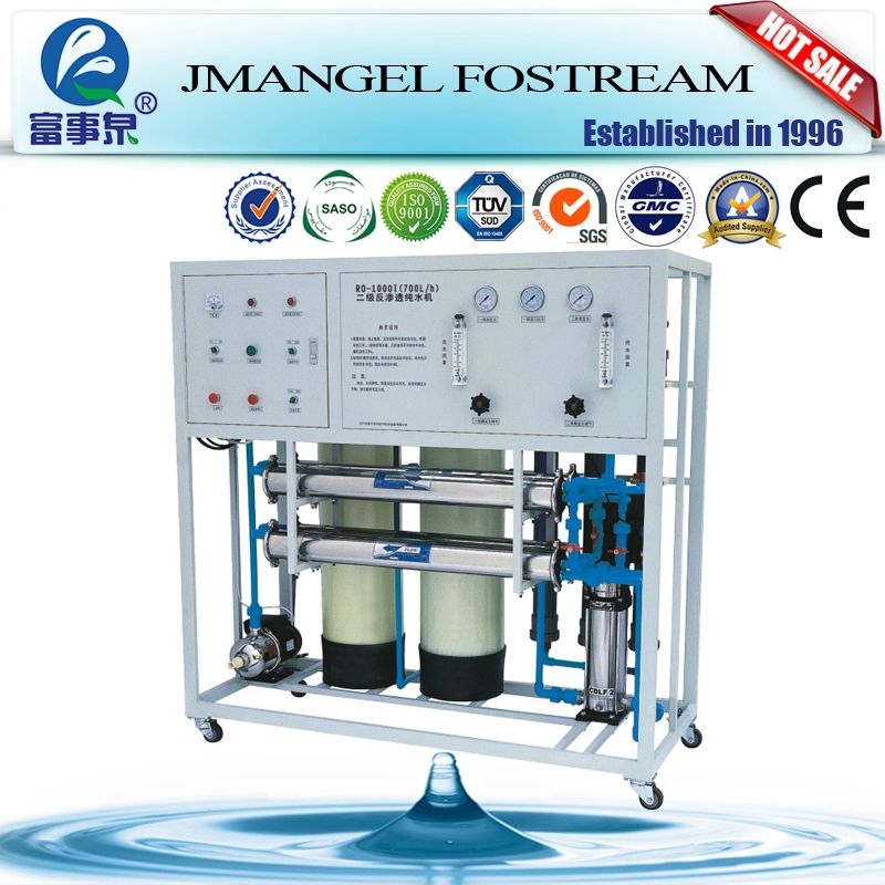Full automatic control filmtec membrane industrial ro plant water purifier