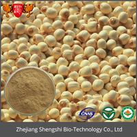 Best Selling Product Jobstears Seed Extract Coix Seed Extract Powder