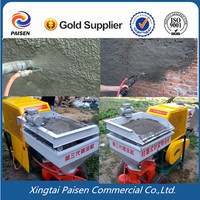 piston type building mortar spray machine, lime mortar spray machine for wall