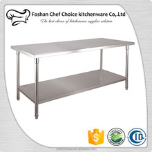 Stainless Steel Lab Work Table Reinforced Frame Resturant & Catering Kitchen Work Table Easy Packing folding Work Table