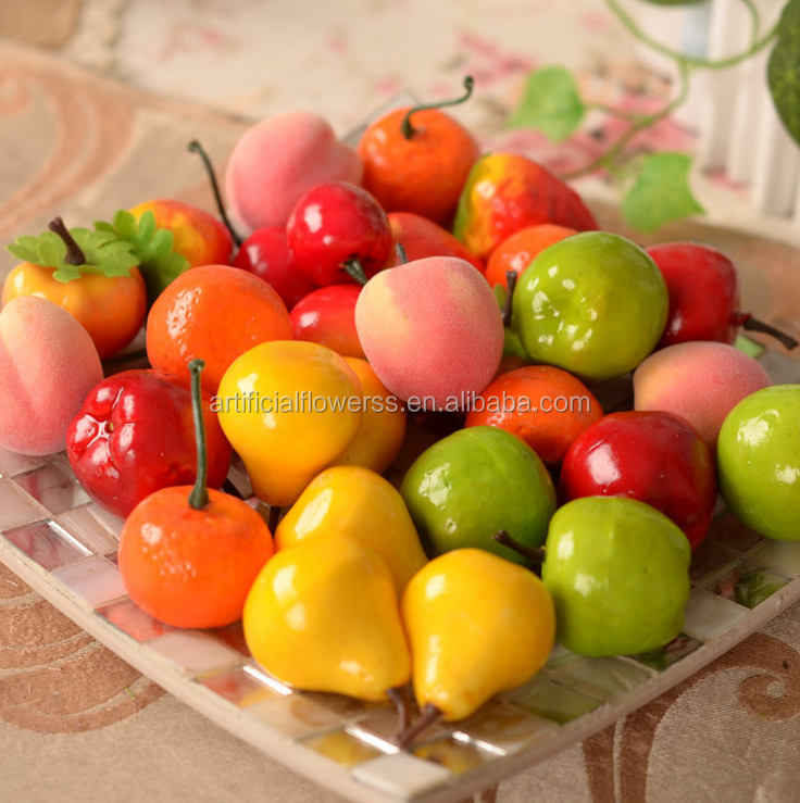 Wholesale decorative fruit for home decoration artificial fruit