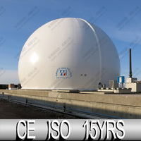 1000M3 CE Certified Safe and Efficient Membrane Biogas Storage System in UK, for Gas Storage