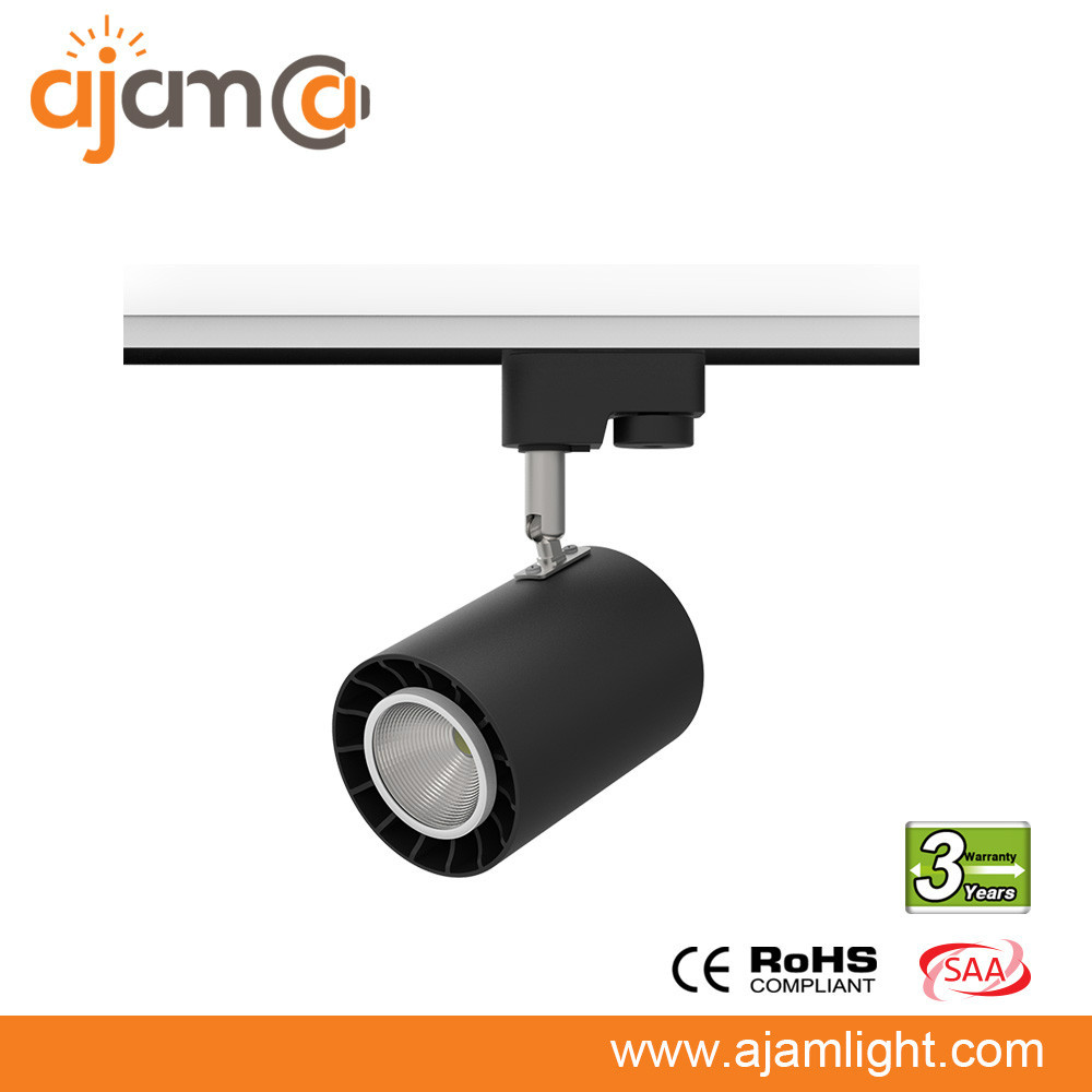 jewellery store showcase light 12w 20w 30w 40w led track ceiling spot light