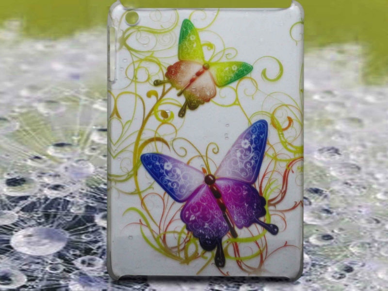 Butterfly design,colors available water droplet ipad case