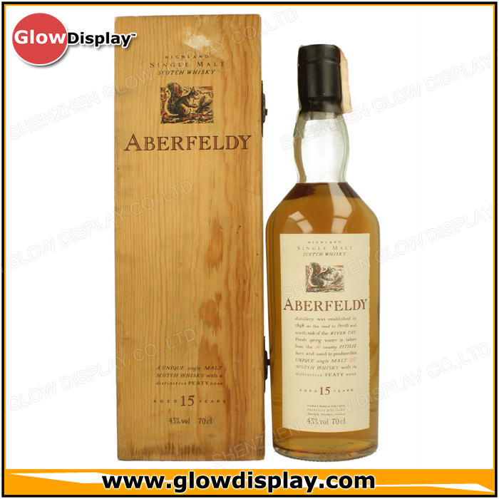 Aberfeldy Highland Single Malt Scotch Whisky Wooden Packaging Box