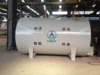 Horizontal or vertical cylindrical steel storage tank