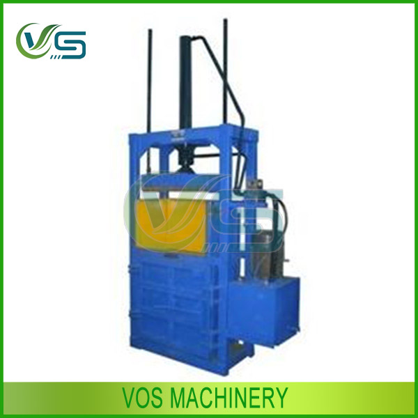 CE approved hydraulic scrap metal baler/hydraulic plastic baler/used clothes baling press machine for sale