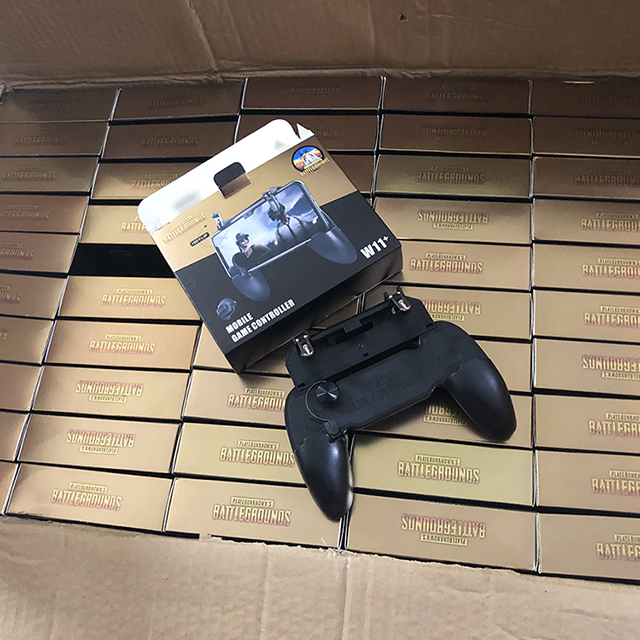 W11+ Mobile Game <strong>Controller</strong> Fire Trigger 3in1 PUBG L1R1 Shoot Aim Button 3 in 1 Mobile Game <strong>Controller</strong>