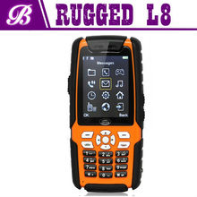 Cheap 2.4 Inch L8 Walkie Talike IP67 Land Rover Dual Sim Bluetooth Rugged Waterproof Cell Phone