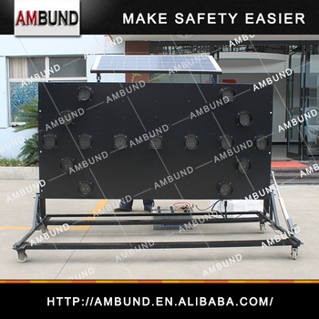 MEXICO Type Trailer / Traffic Control Equipment Solar Led Arrow Warning Light Sign Board Truck Mounted Arrow Board