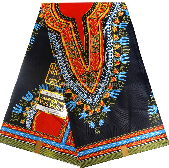 Women Hobo Loose Traditional Tribal African Dashiki Party Hippie Mini Dress fabric