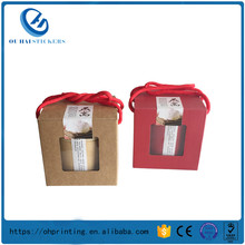 China Custom Logo Cubilose Paper Printed Boxes with Tray Packaging