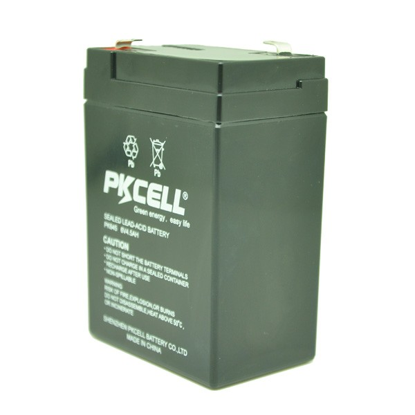 2017 Sealed Lead Acid battery 6v 4.5ah 20hr battery for Security System & Emergency System