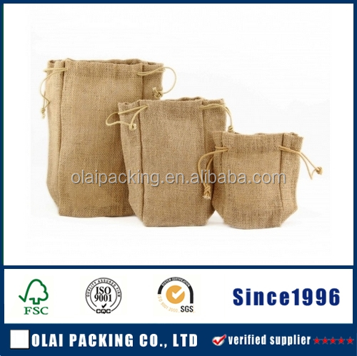 Fashion small burlap bag packing seeds,seed packaging bags