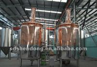 8BBL hotel beer brewery equipment, bar beer equipment, red copper equipmentThe High-end quality choice of successful people