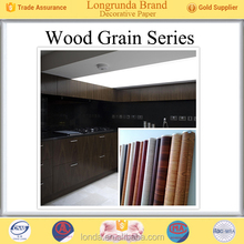 Longrunda Top Supplier Wood grain Low Price decorative paper for brazil market