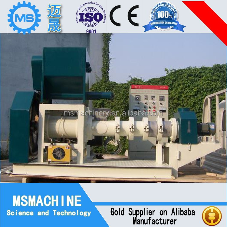 Factory price animal feed extruder machine fish feed machine