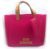 promotional cheap Eco Friendly recycled Felt bags fashionable women Shopping tote handbag with free pouch