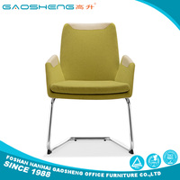 New product classical white leather dining chair