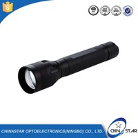 Passed SGS aluminum rechargeable police 50w flashlight
