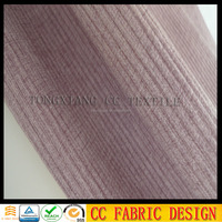 Velboa sofa fabric /Printed knit brush fabric for sofa /Stripe pattern fabric for sofa