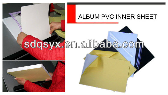 pape slip self adhsive sheets for photo album (cold press)