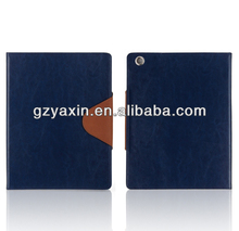 slim magnetic pu leather case stand for ipad 3,ultra thin leather case for ipad 2 3 4