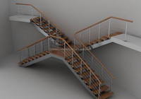 indoor wrought stair glass railing prices,iron hand railing for the stairs/prefab metal stair railing