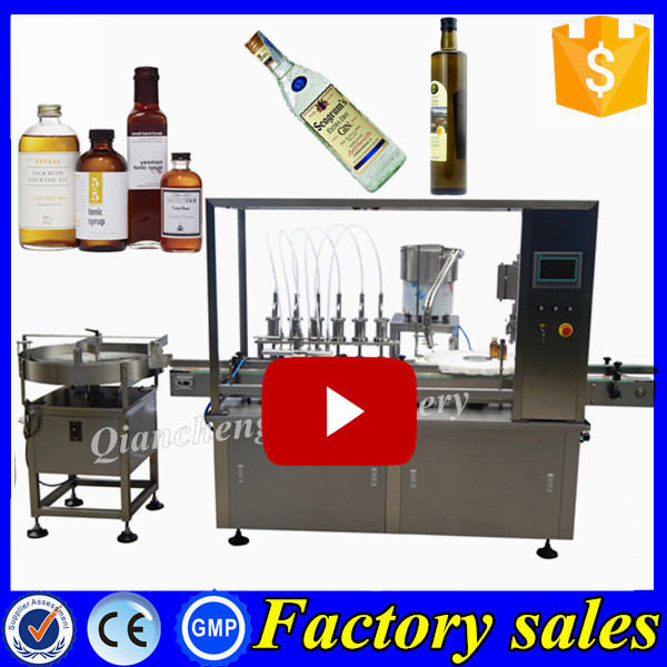 Hot selling machine grade vial filler and capping