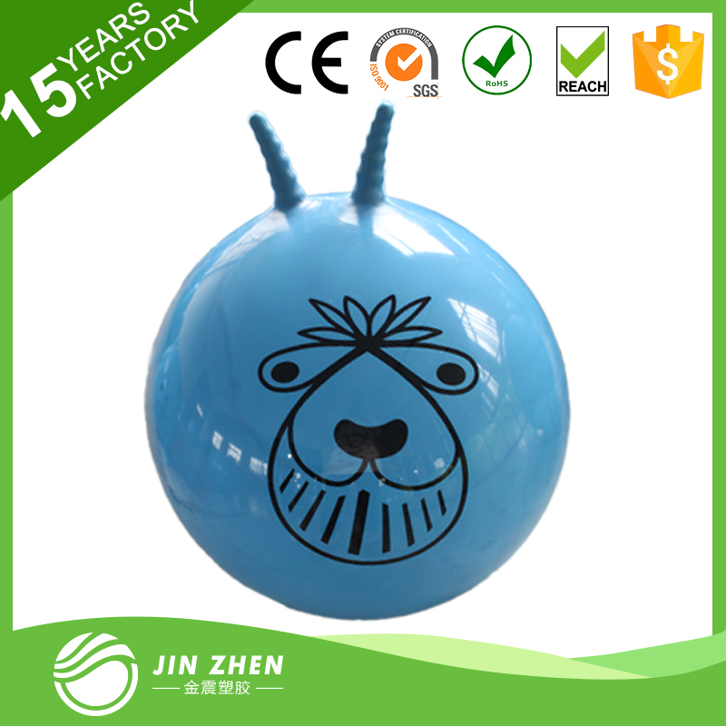 VICBALL PVC JUMPING BALL WITH SHEEP HORN