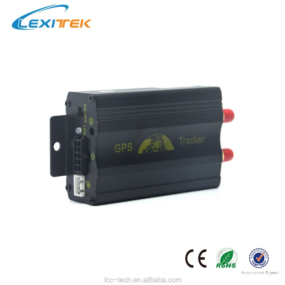 Lexitek google map gps tracker with geo fence function Lt103a