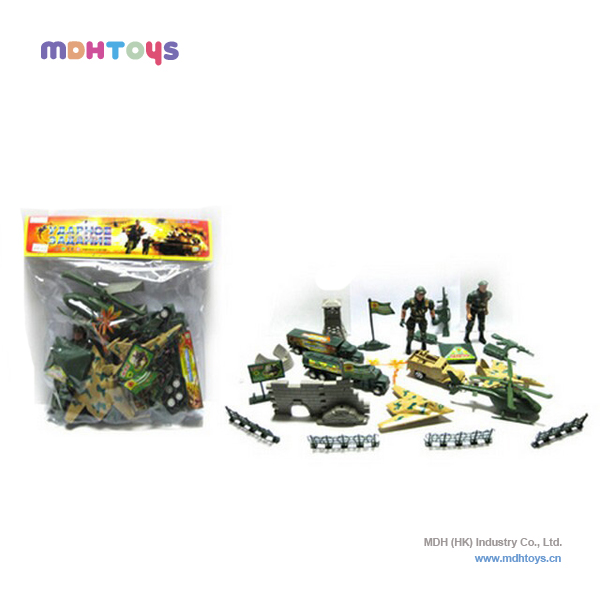 Plastic Military Vehicle Sets Toys