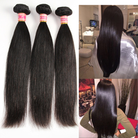 Shenzhen Hair Raw Unprocessed Straight Virgin Peruvian Hair