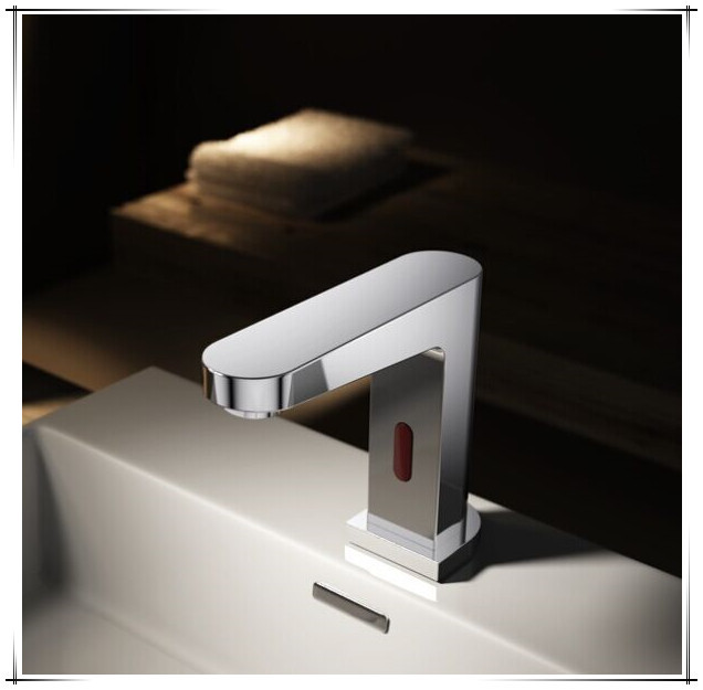 High-end Wall Mount CUPC Automatic Wash Basin Faucet, View Wash ...