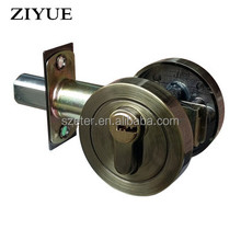 High Quality North American Tubular Type Rosette Interior Door Deadbolt Lock