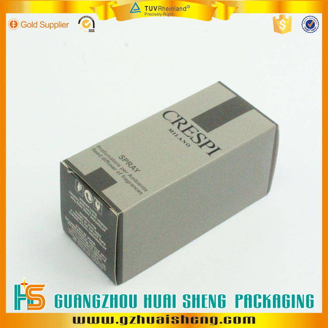 matte lamination custom printed small comestic packaging box