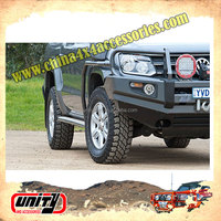 Wholesale Steel Side Step 4x4 Accessories Running Board Nerf Bar Car Pedal for AMAROK ARB Style with Side Rail Design