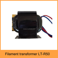 Epoxy potting 1500w microwave oven filament transformer for 1500w magnetron,LT-R50
